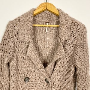 Free People Sweaters - Free People | Chunky Knit Long Cardigan